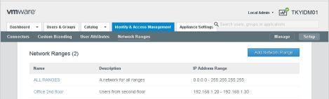 network-range
