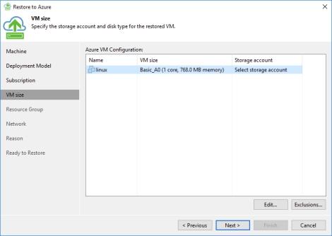 Veeam Backup – Restore to Microsoft Azure | Virtual Elementary